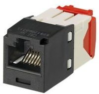 PANDUIT CJ5E88TGBL Модуль Mini-Com® RJ45 TX5e, UTP Т568A/B Enhanced (черный)